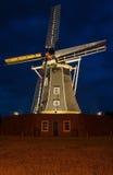 Autentisk renoverad windwill i Winterswijk i Royaltyfri Foto