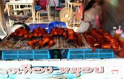Autentisk thailändsk mat arkivbild