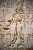 Autentiska egyptiska hieroglyf Royaltyfria Bilder
