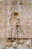 Autentiska egyptiska hieroglyf Royaltyfri Fotografi