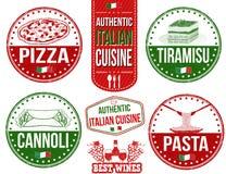 Autentiska italienska matkuponger Arkivbilder