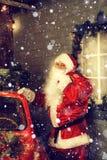 Autentiska Santa Claus Royaltyfria Bilder