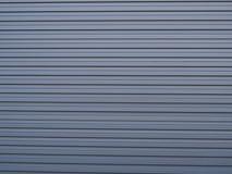 Autentyczna pasiasta panwiowa stali ściana Obraz Royalty Free