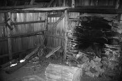 Autentyczna pionierska kabina Fotografia Stock