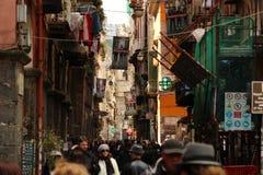 Autentyczna włoska atmosfera na ulicie Obrazy Royalty Free