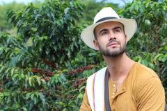 Autentyczni południe - amerykański kawowy przedsiębiorca obrazy royalty free