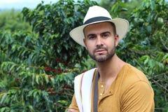 Autentyczni południe - amerykański kawowy przedsiębiorca zdjęcie royalty free