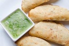 Autentyczni tacos dorados obrazy stock