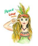 Autentyczny dziewczyna rysunek, koszulki grafika ilustracja wektor