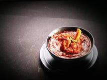 Autentyczny Indiański jedzenie obrazy stock