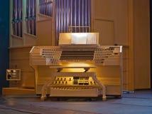 autentyczny instrumentu muzyki organ Obrazy Stock