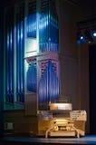 autentyczny instrumentu muzyki organ Zdjęcia Royalty Free