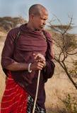 Autentyczny Masai mężczyzna od Tanzania Fotografia Stock