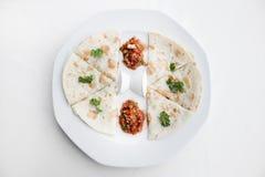 Autentyczny meksykański barbacoa i carnitas meksykanina jedzenie Fotografia Stock