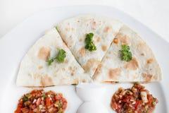Autentyczny meksykański barbacoa i carnitas meksykanina jedzenie Obraz Royalty Free