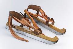 Autentyczny stary drewniany jazda na łyżwach od holandii Obraz Stock