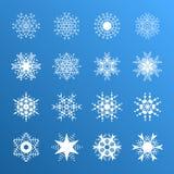 auteursillustratie in vector Sneeuwsymbool Stock Afbeeldingen