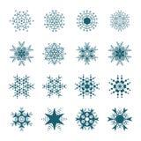 auteursillustratie in vector Sneeuwsymbool Royalty-vrije Stock Foto