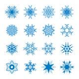 auteursillustratie in vector Sneeuwsymbool Royalty-vrije Stock Afbeeldingen