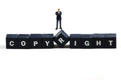 Auteursrecht stock afbeeldingen
