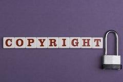 Auteursrecht stock foto's