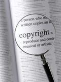 auteursrecht Royalty-vrije Stock Afbeelding