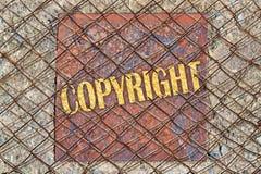 auteursrecht Stock Afbeelding