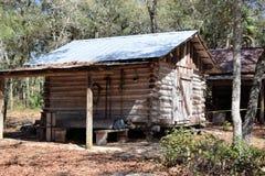 Pioneer Log Cabin Royalty Free Stock Image