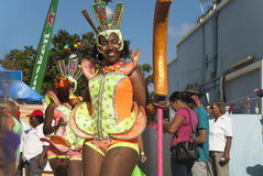 Authentic carnival in the Caribbean Royalty Free Stock Photos