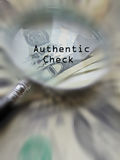 Authentic check/control Stock Photo