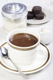 Authentic chocolate cocoa from the philippines Royalty Free Stock Photos