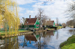 Authentic dutch houses Royalty Free Stock Images