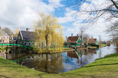 Authentic dutch houses Royalty Free Stock Photos