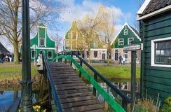 Authentic dutch houses Stock Image