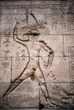 Authentic Egyptian hieroglyphs. Royalty Free Stock Photos
