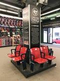 Authentic Fenway Park Seats Stock Photography