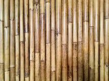 authentic Fundo indonésia Parede de bambu fotografia de stock