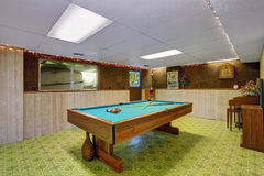 Authentic game room. Royalty Free Stock Photo