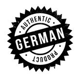 Authentic german product stamp. Grunge design with dust scratches. Effects can be easily removed for a clean, crisp look. Color is easily changed Royalty Free Stock Images