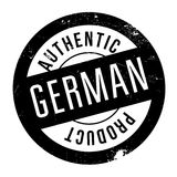 Authentic german product stamp. Grunge design with dust scratches. Effects can be easily removed for a clean, crisp look. Color is easily changed Stock Photo