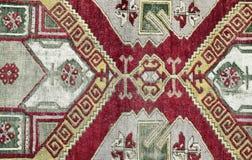 Authentic handmade Turkish carpet Royalty Free Stock Photography