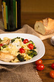 Authentic Italian Pasta Meal royalty free stock photos