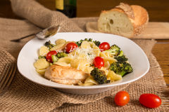 Authentic Italian Pasta Meal royalty free stock photography