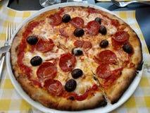 Pizza pizza royalty free stock photo