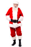Authentic look of traditional father christmas Stock Photos