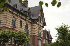 Authentic mansions in Houlgate
