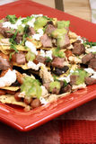 Authentic mexican nachos Royalty Free Stock Images