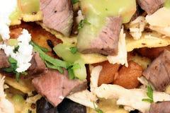 Authentic mexican nachos Stock Photos