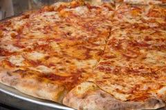 NYC Pizza. Authentic New York City Italian style pizzeria pizza pie Stock Image