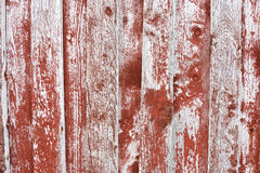 Authentic, old boards from the wall of a fishing cottage. Stock Photography